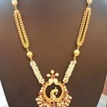 22K Gold Pachi Long Necklace