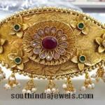 Gold Plated Ottiyanam (Vadanam)