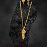 Fancy Gold Chain, Pendant & Earrings from Jewel One
