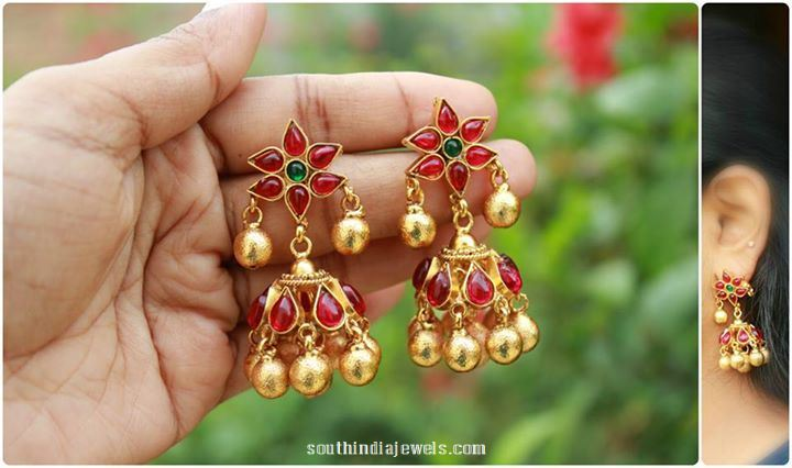 Imitation Antique Jhumka from Magha Store
