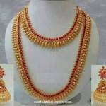 Imitation Kemp Bridal Necklace Set