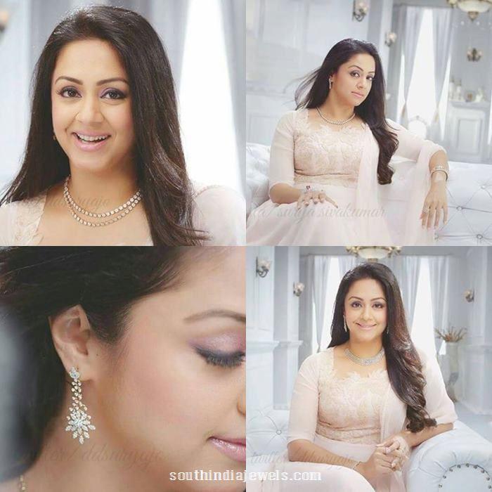 Jyothika in Saravana Elite Diamond Jewelleries