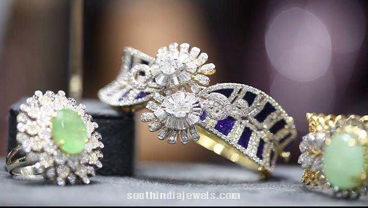 Manubhai Jewellers rings and bracelets designs