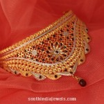 22 Carat Gold Choker Necklace from Manubhai