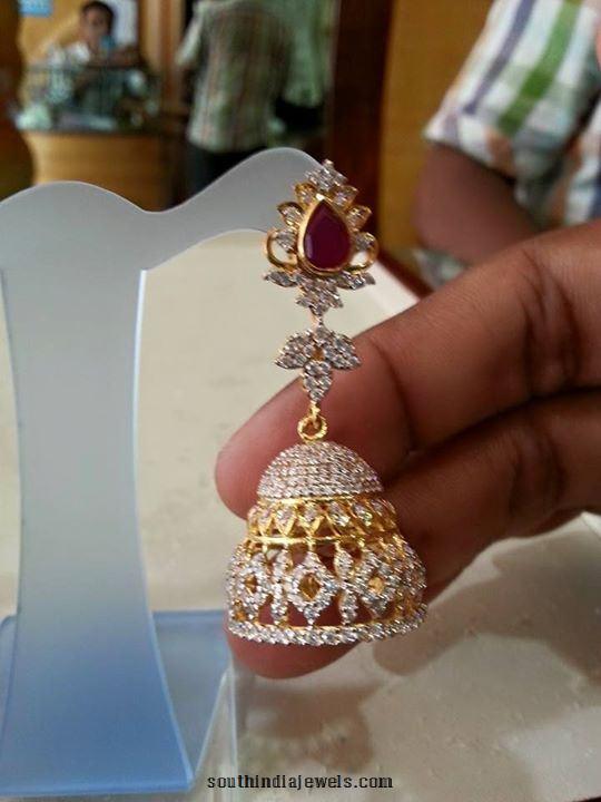Gold Jhumka design 2015