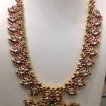 Gold Ruby Antique Mango Haram