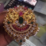 25 Grams Gold Stone Pendant Design