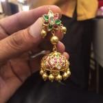 38 Grams Gold Antique Jhumki