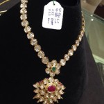 Gold Polki Attigai Necklace