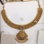 Latest Model Gold Antique Attigai Necklace