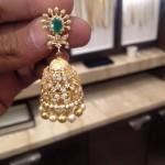 Latest Model Diamond Emerald Jhumka