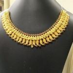 Gold Mango Mala Choker Necklace