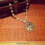 Gold Diamond Pearl Mala