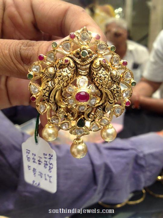 gold-nakshi-peacock-pendant-with-south-sea-pearls-psj
