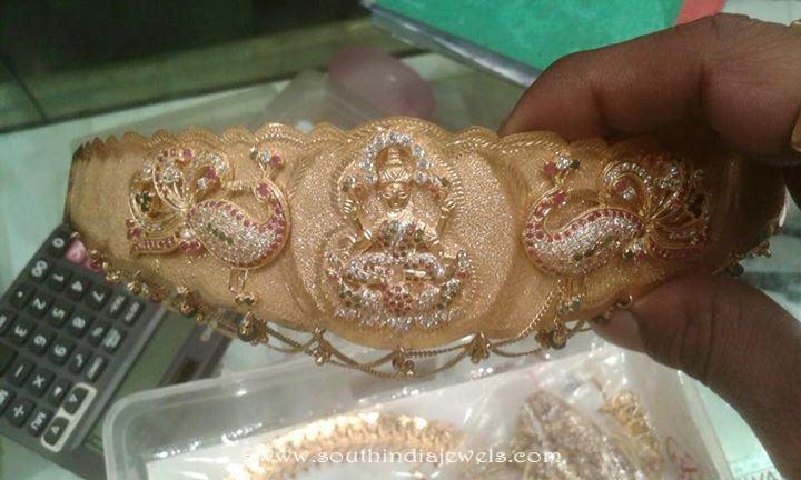 Gold Vadanam Design with weight Details