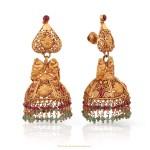 Gold Antique Jhumka from Malabar Gold & Diamonds