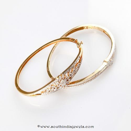 Diamond Bracelet Design From Bhima Jewellers South India Jewels