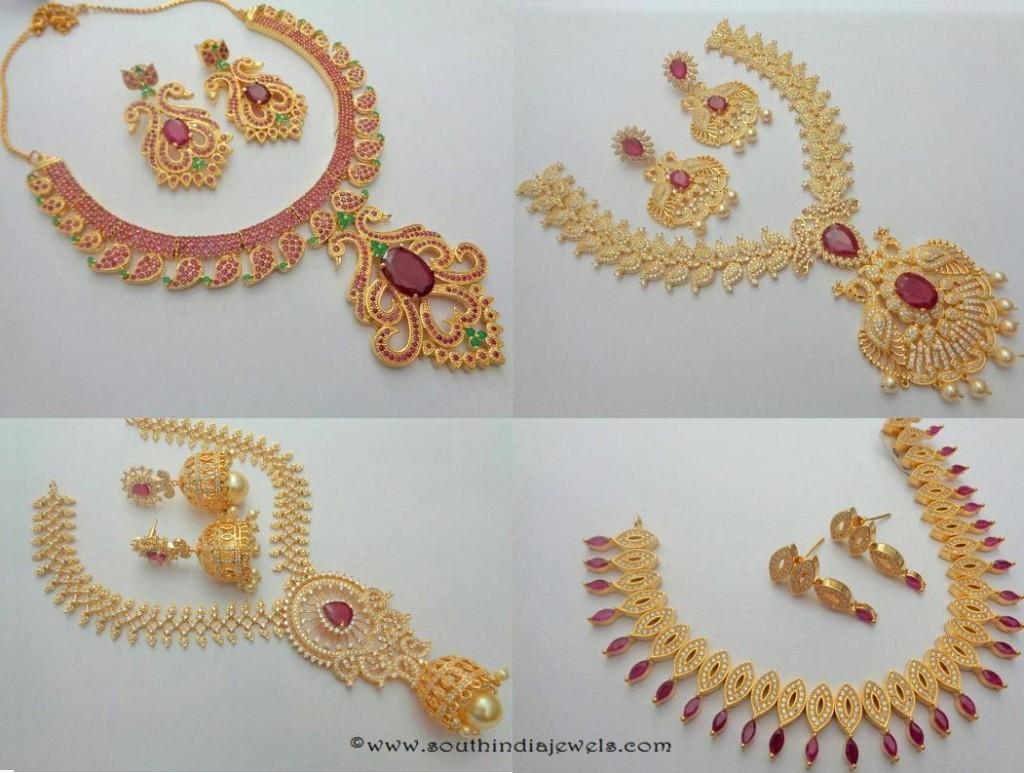 Imitation Ruby Jewellery Sets