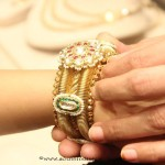 22K Gold Antique Bangle From Manubhai Jewellers