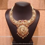 Gold Antique Bridal Necklace From NAJ
