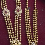 Three Layer Gold Gundala Haram Designs