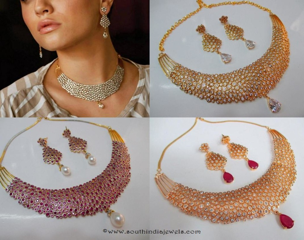 Imitation AD Choker Set Collections from Simma Jewels