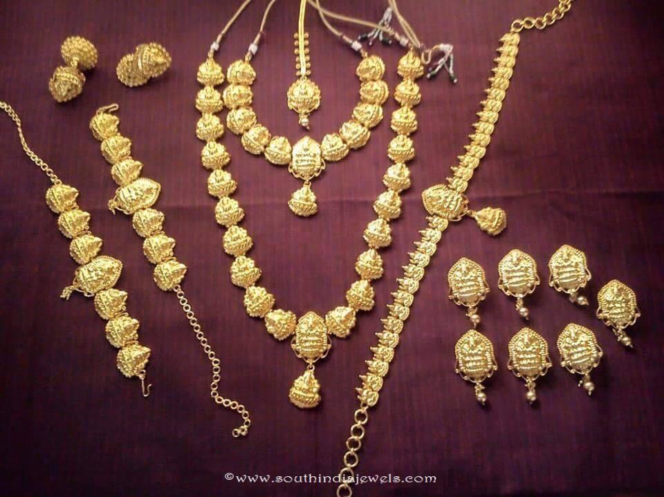 South Indian Nagas Bridal Jewellery Set