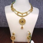 Two Layer Gold Designer Necklace