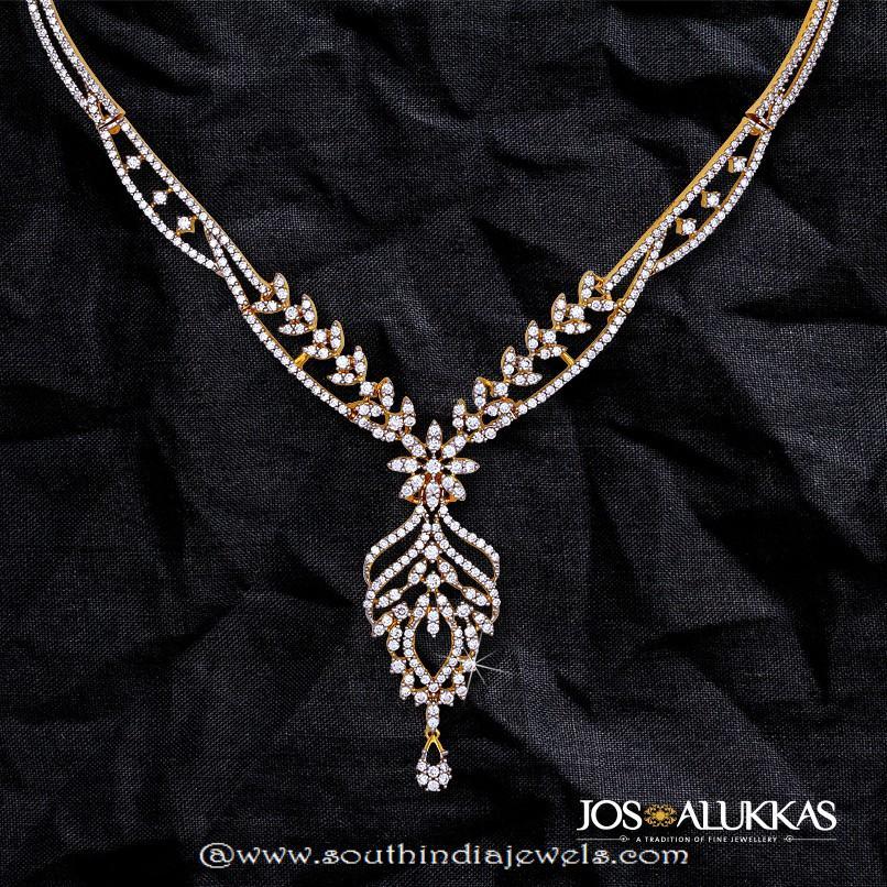 Beautiful Diamond Necklace from Josalukkas