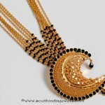 Gold Black Bead Wedding Mangalsutra