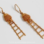 Fancy Gold Hoop Earrings From PNG Adgil Jewellers