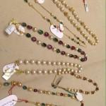 Gold Pearl Chain Designs