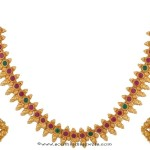 Gold Plated Kemp Necklace Set