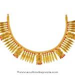 Kerala Style Spike Necklace Set