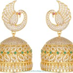 One Gram Gold Stone Jhumki