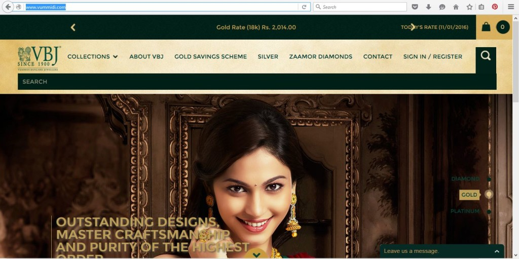 South India Gold Jewellery Online Shopping