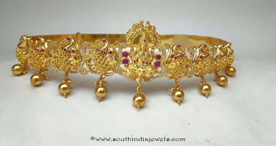 1 gram gold kids vadanam design