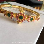 18 Grams Gold Ruby Bangle