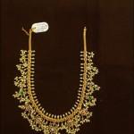 88 Grams Gold Guttapusalu Necklace
