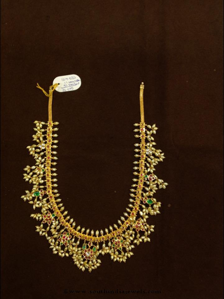 88 Grams Guttapusalu Necklace from Premraj