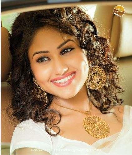 Anjali jewellers gold designer necklace set
