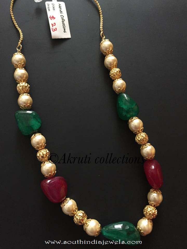 Designer beads mala from Akrutiakrut