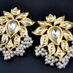 Fancy Pearl Earrings from Orne Jewels