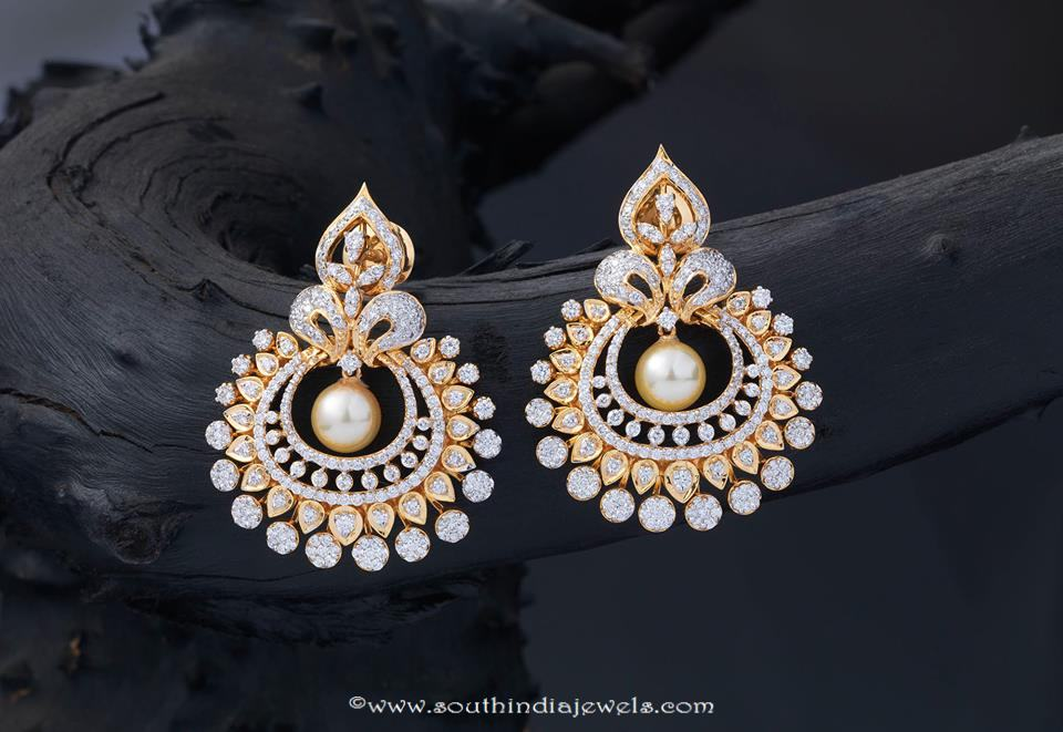 Gold Pearl Earrings From Creations Jewellery