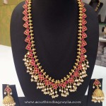Imitation Antique Ruby Jewellery Set