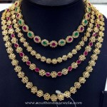 Imitation Uncut Necklace from Swarnakshi