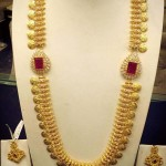 Long Gold Kasumalai with Side Lockets
