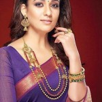 Nayanthara in GRT Antique Jewellery