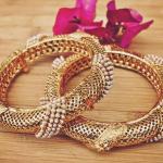 Pearl Kada Bangles from Orne Jewels