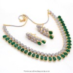 Imitation Emerald Necklace